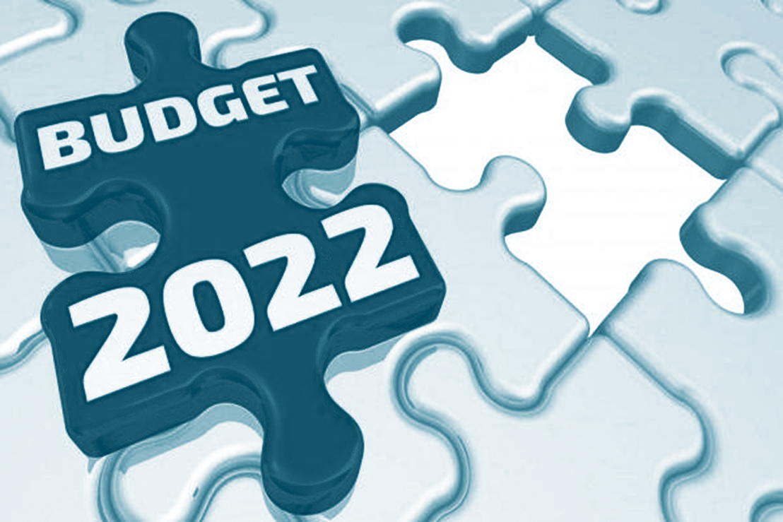 Extra budget in 2022
